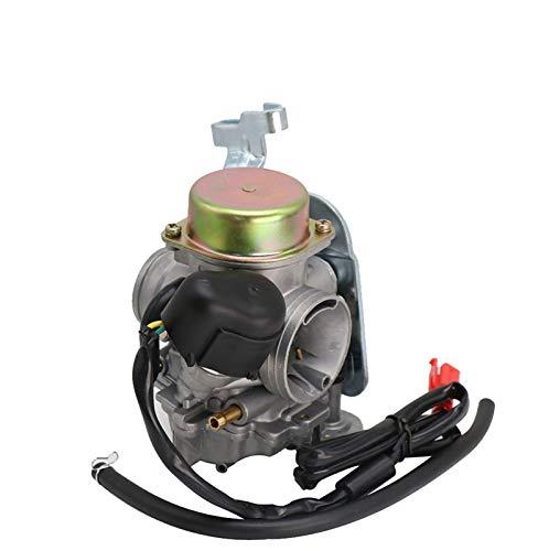 XIWEIG Carburetor CVK30 con Calentador para Scooter, Ajuste para - ATV UTV MANCO Talon LINHAI Aeolus VOG BRIGHORN / 260 300 Tank 260 YP250, Piezas De La Motocicleta (Color : CVK30 2)