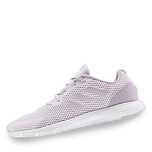 Adidas Sooraj, Sport Shoes Mujer, Ftwbla/Ftwbla/Malva, 35 EU