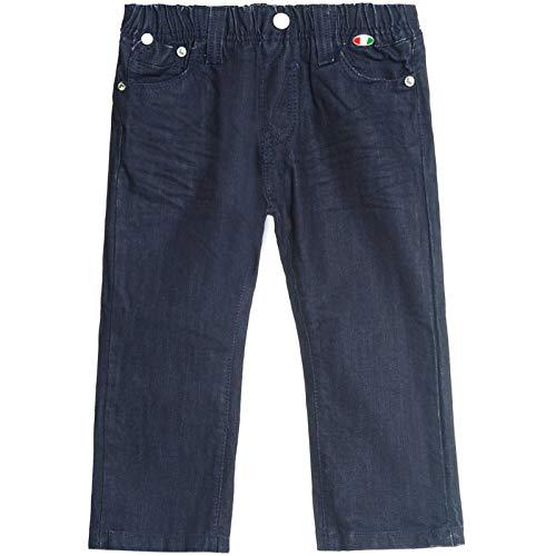 Baby Jungen Jeans Hosen Stretch Biker Style Lockere Passform Baumwolle 30242 Blau 18 Monate