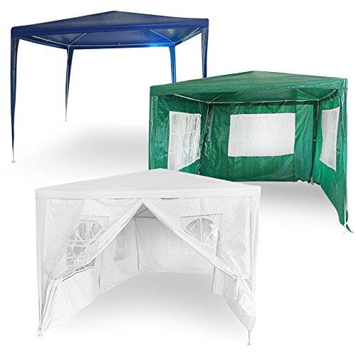 Estexo Tuinpaviljoen, feesttent, partytent, tuintent, tent, festivalpaviljoen 300x300x240 cm ohne Seitenwände blauw