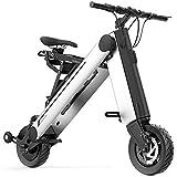 YANGMAN-L Bicicleta eléctrica, Mini 350 W Plegable Scooter eléctrico 8 Pulgadas Ruedas 36 V 10AH Bicicleta Plegable eléctrica para la Movilidad de Viajes