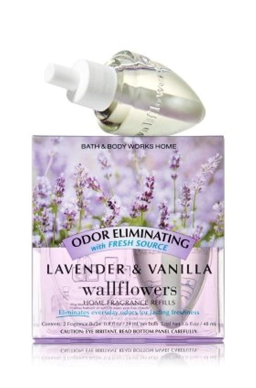 方言本当にパノラマ【Bath&Body Works/バス&ボディワークス】 ルームフレグランス 詰替えリフィル(2個入り) 消臭効果付き ラベンダー&バニラ Wallflowers Home Fragrance 2-Pack Refills Odor eliminating Lavender & Vanilla [並行輸入品]