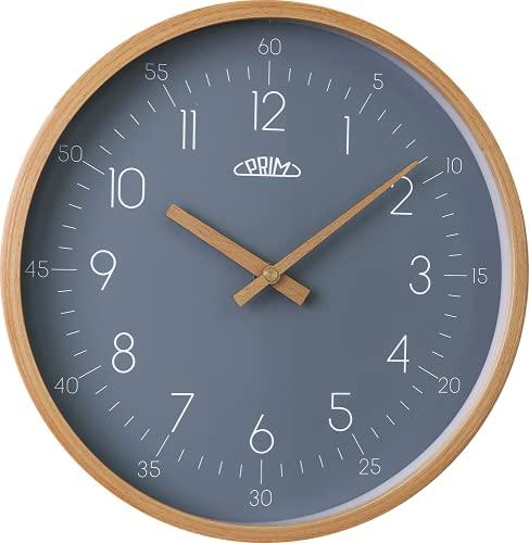 PRIM Reloj de Pared de Madera Gris.
