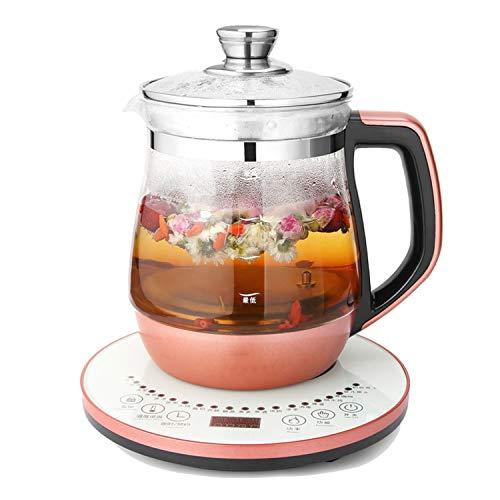 Teekocher Elektrisch Wasserkocher 1.8L Teekocher Elektrisch Automatisch mit Permanent-Edelstahl-Teefilter (herausnehmbar) Brüh-Funktion (Teeaufbereiter), 1200W B
