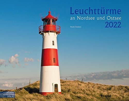 Leuchttürme Kalender 2022 | Wandkalender Nordsee/Ostsee (58 x 45,5 cm): Großformat-Kalender 58 x 45,5 cm
