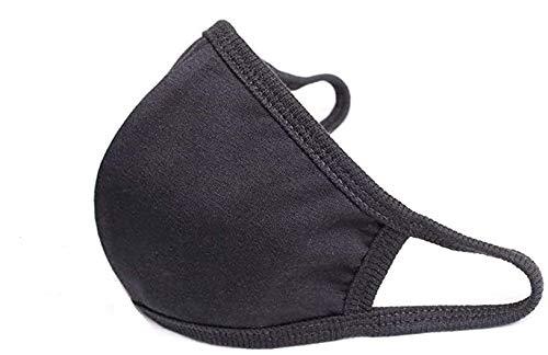 Glowtica - Protector facial de algodón transpirable y reutilizable, 10 unidades, 5.9...