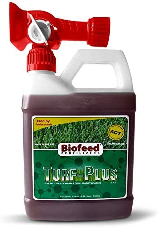 Greener New life Solutions Turf-Plus - Turf Feed Quart Grasses All for Luxury goods {1