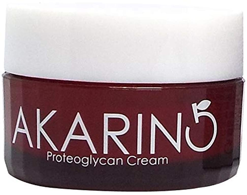 どんよりした志すペリスコーププロテオグリカン配合フェイスクリーム 30g AKARIN5