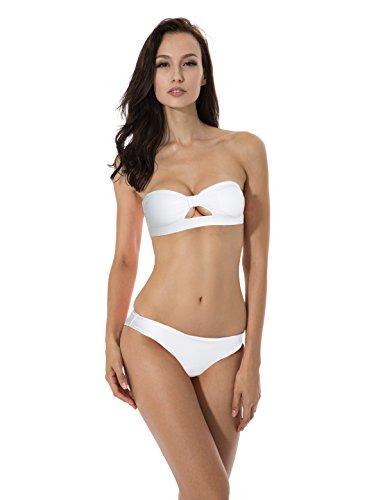 RELLECIGA Bikini de jacquard para mujer