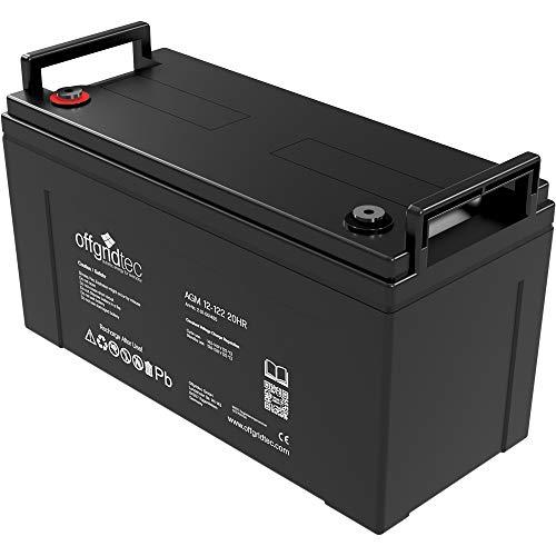 Offgridtec® AGM 122Ah 20HR 12V - Solar Batterie Akku Extrem zyklenfest