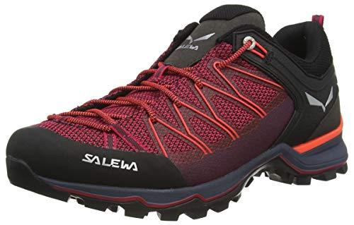 Salewa WS Mountain Trainer Lite, Stivali da Escursionismo Alti Donna, Virtual Pink Fluo Coral, 35 EU