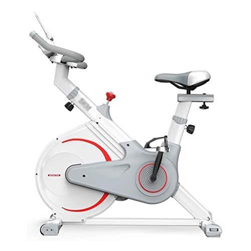Indoor Cycling Bike- Schwungrad Riementrieb stationäres Fahrrad Schlank Zyklus Übungs-Fahrrad, wie auf Fernseh Start Spinning Bike Laufen Übung Übung Bike Indoor Pedal Heimtrainer, einstellbarer Wider