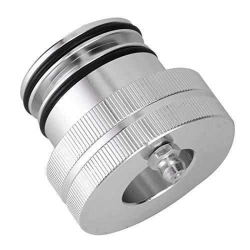 Eosnow Lubricador de cojinetes, fácil de Usar Engrasador de cojinetes de 40 mm de Aluminio de Alta Durabilidad con 4 pasadores de Acero Inoxidable para 1000/1000-5