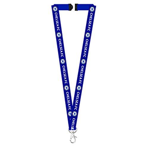 Chelsea FC Official Schlüsselband (Einheitsgröße) (Blau)