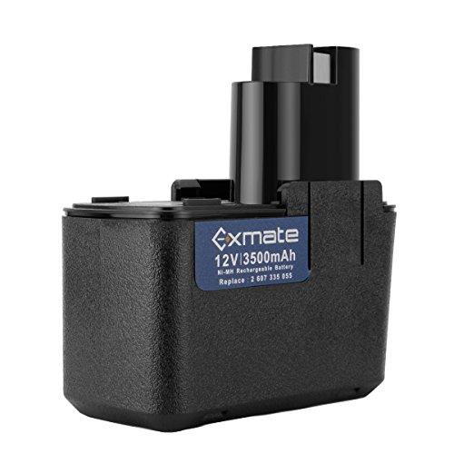 Exmate 12V 3.5Ah Ni-MH para Bosch Batería BAT011 BH1214H BH1214L BH1214MH 2607335054 2607335055 2607335071 2607335081 2607335090