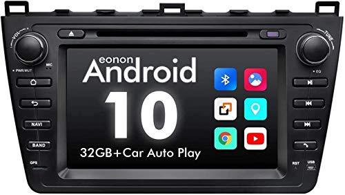 LINGJIE GPS-Navigation für Mazda 6 2009 2010 2011 2012 Android 10.0 Autoradio 8