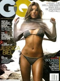 GQ Magazine (Jessica Biel Cover), July 2007 (Single Issue Magazine)