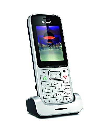 Gigaset SL450HX Aluminium - Combinés de Téléphone (Aluminium, Noir, TFT, 240 x 320 Pixels, Lithium-Ion (Li-Ion), Aluminium)