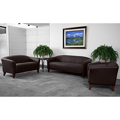 Flash Furniture HERCULES Imperial Series Brown LeatherSoft Sofa