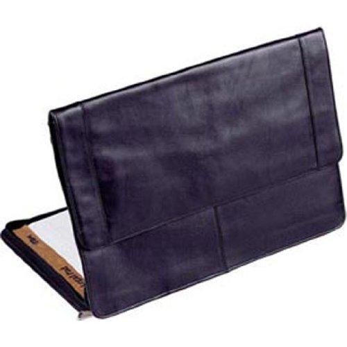 Winn Harness Leather Underarm Portfolio w/#9 Heavy Duty Zippers, Black
