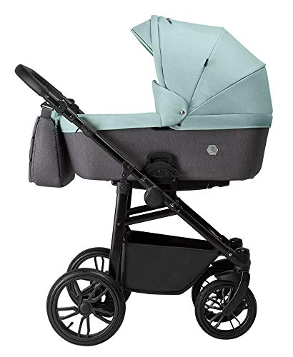 Tutek XPERO 3-teiliges Kinderwagen-Set Mint