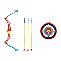 VORCOOL 1セットの子供用の弓と矢の吸盤の矢のターゲットと矢筒の練習子供のための屋外のおもちゃ