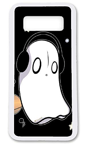 Undertale Napstablook Hard Plastic Phone Cell Case for Galaxy Note 8