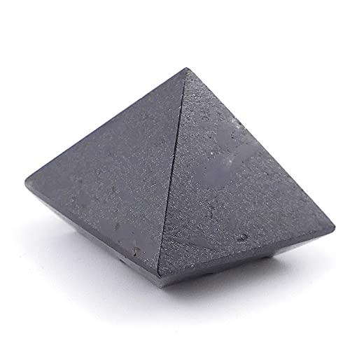 ARITZI - Pirámide Lemuriana hecha de Piedra Natural - Turmalina negra