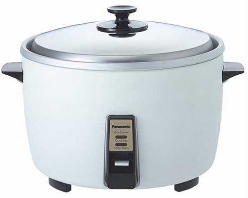 Panasonic SR-42HZP 23-Cup (Uncooked) Rice Cooker/Steamer, Silver