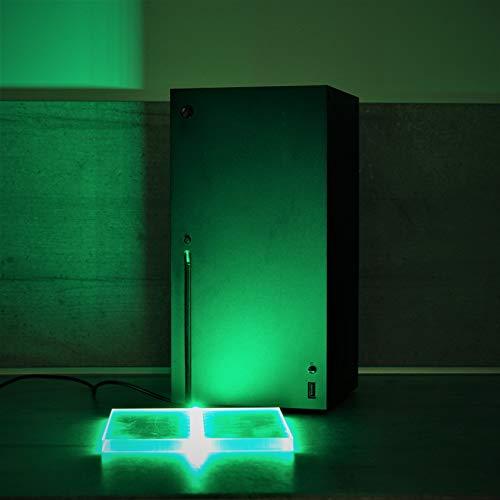 Standfuss Stand Fuß für Xbox Series X mit LED RGB über USB mit Handcontroller Snapseller