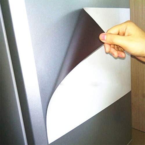 Pizarra blanca magnética para nevera, pizarra blanca de borrado en seco para nevera, pizarra blanca de cocina, pizarra blanca magnética suave para nevera, hogar, oficina, escuela (A5(14.8 * 21cm))