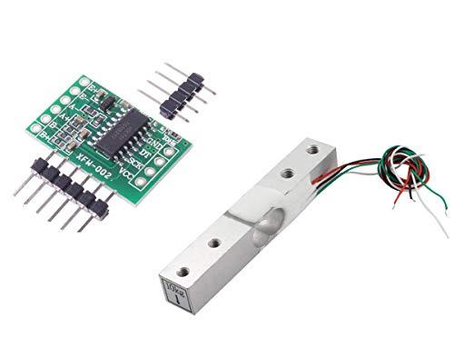 Aihasd Cella di carico Digitale Sensore di Peso 10KG Scala di Cucina Elettronica Portatile + HX711 Sensori di pesatura Modulo Ad per Arduino