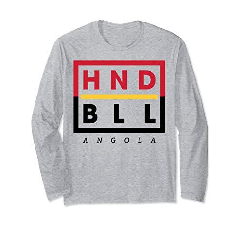 Angola Fan Trikot - HNDBLL Handballer Geschenk Langarmshirt