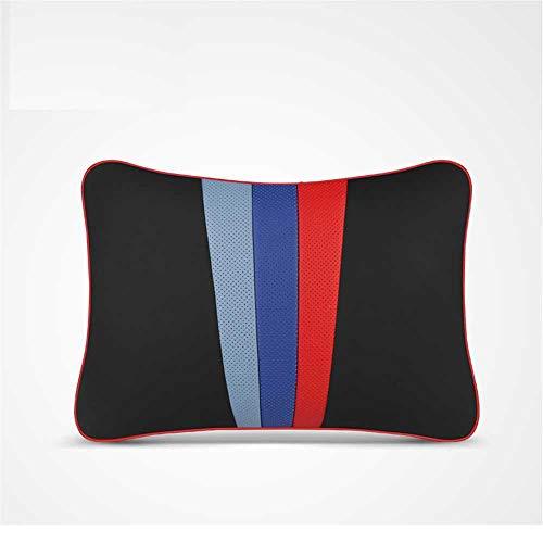 XQRYUB Cojín de Cintura para Asiento de Coche Almohada para el Cuello del Coche, Apto para BMW X1 X2 X3 X4 X5 X6 530 G05 E70 E90 F30 F86 GT M3