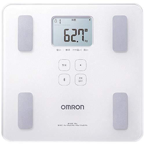 Omron HBF-227T-SW báscula baño Báscula Personal electrónica Plaza Blanco - Báscula de baño (Báscula Personal electrónica, 100 g, kg, Plaza, Blanco, Vidrio)
