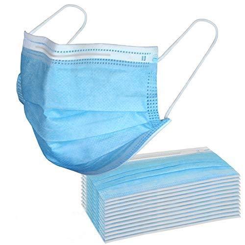ALPIDEX Mundbedeckung 10/20/50/100/200/500/1000 Stück Gesichtsbedeckung Staubschutz, Verpackungseinheit:200 Stück