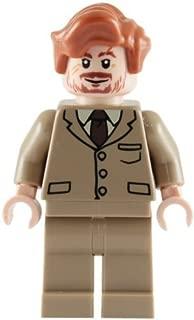 LEGO Harry Potter: Minifigur Professor Lupin mit braunem Anzug