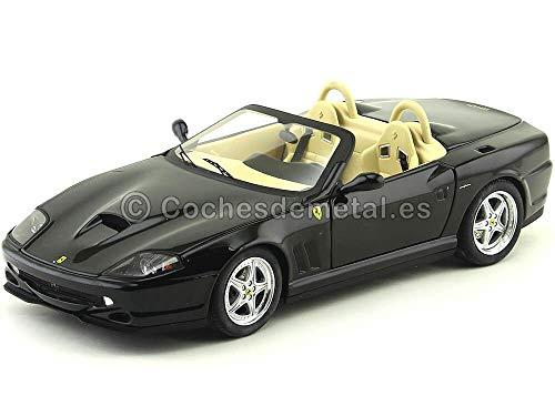Elite - WN2055 - Véhicule Miniature - Ferrari 550 - Barchetta - Noir - Echelle 1/18