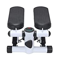 1.Size: 30.5*33*11.1cm.Material: steel pipe ,plastic. 2. Multi-function LCD display - display count, time, stride/minute, burning calories and scanning functions. 3. Use the bungee arm rope as a home gym and exercise. Perfect low-impact dual-action w...