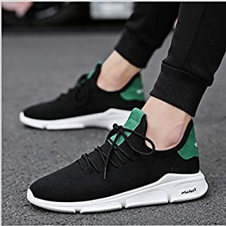 SR trade-YUNTU Men's Sports Shoes Men's Shoes Casual Comfortable wear-Resistant Non-Slip Men's Heel Large Size