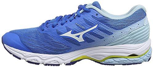 Mizuno Wave Prodigy 2, Zapatillas de Running para Mujer, Azul (Brilliant Blue/White/Cool Blue 20), 38.5 EU