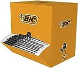 BIC Cristal Original Bolígrafos Punta Media (1.0 mm) - Caja de 150 unidades, color negro