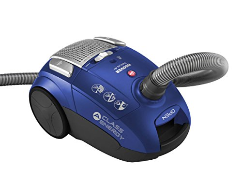 Hoover TELIOS PLUS TE Aspirador con bolsa, clase A, 700 W, 85Dba, 3.5 litros, 83 Decibelios, Azul java
