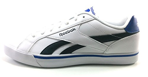 Reebok Complete 2LL, Zapatillas Hombre, Blanco (White/Black/Collegiate Royal), 40.5 EU