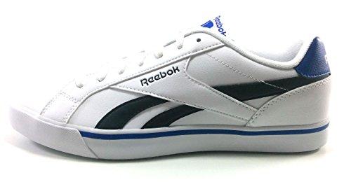 Reebok Complete 2LL, Zapatillas de Tenis para Hombre, Blanco White Black Collegiate Royal, 45.5 EU