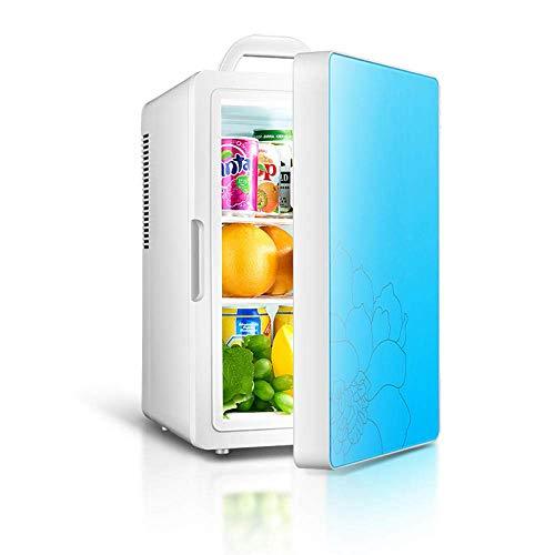 LXYZ Autokühlschrank/Mini-Gefrierschrank/Tragbarer Außenkühlschrank Kühler Heizung 4L Outdoor-Schlafsaal Auto und Auto Dual Use-Pink Travel/Camping Car Freezer für Autofahrten