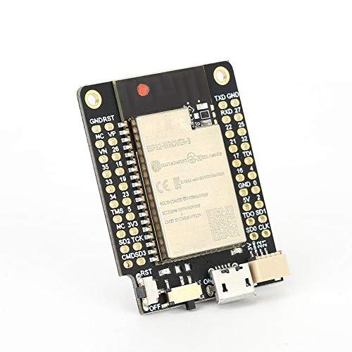 WiFi Bluetooth Board,for TTGO Mini 32 ESP32-WROVER-B PSRAM 520 KB SRAM WiFi Bluetooth Module Development Board,for QSPI Flash 4MB/PSRAM 8MB,for IPv4,IPv6,SSL,TCP/UDP