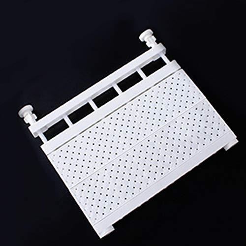 Scaffale per armadio regolabile Scaffale portaoggetti scalabile, Separatore per ripiano portaoggetti Divisorio per armadio guardaroba, Ripiani per armadio aerato