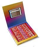 Caja golosinas Instagram 23x23cm con mensaje I LOVE YOU, su interior contiene 750g de golosinas Love