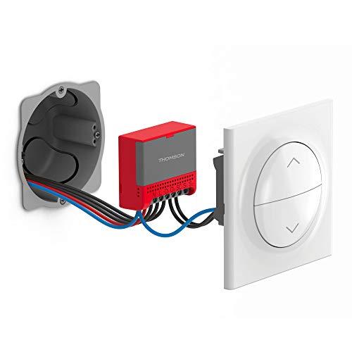 THOMSON at HOME, ACCESS, WLAN Micro-Modul für elektrische Rollläden/Markisen/Jalousien, Installation hinter dem Schalter für die Steuerung von Rollläden/Markisen/Jalousien